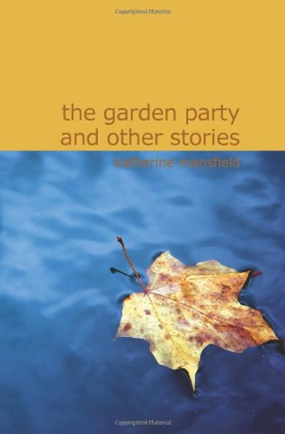 つなぐ買うさせるThe Garden Party and Other Stories