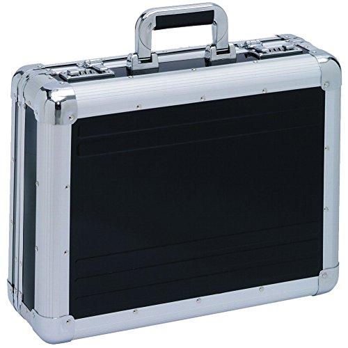 Attaché-Case Valise Mallete Aluminium Noir Serrure à...