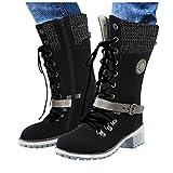 Zieglen Short Rain Boots for Women Women's Short Rain Boots Waterproof Anti Slip Rubber Ankle Chelsea Booties