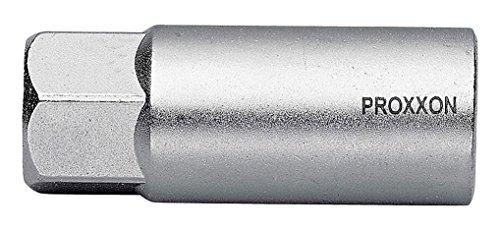 PROXXON 23 442 Vaso Bujía de 1/2', Tamaño 16mm, Longitud 70mm, multicolor