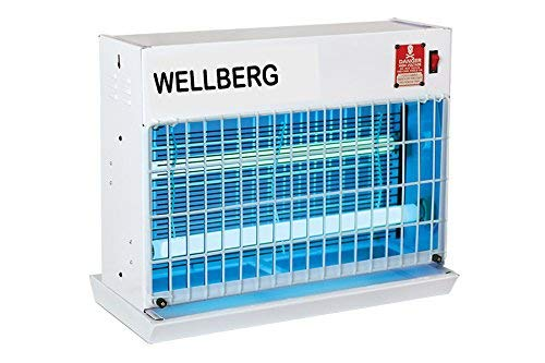 Wellberg Slim Flying Insect Killer 1ft. UV Tubes Bug Zapper with High Voltage Current Rectifier