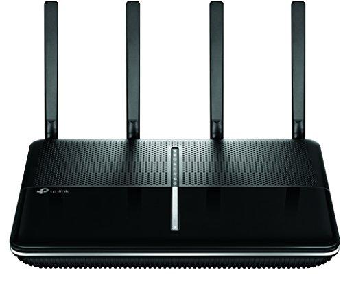 TP-Link Archer VR2800v AC2800 WLAN Telefonie VDSL DSL Modem Router (2167 Mbit/s 5GHz, 600 Mbit/s 2,4GHz, komp. mit Telekom/1&1/Vodafone/O2, DECT Basis und Mediaserver, nur für Deutschland)schwarz
