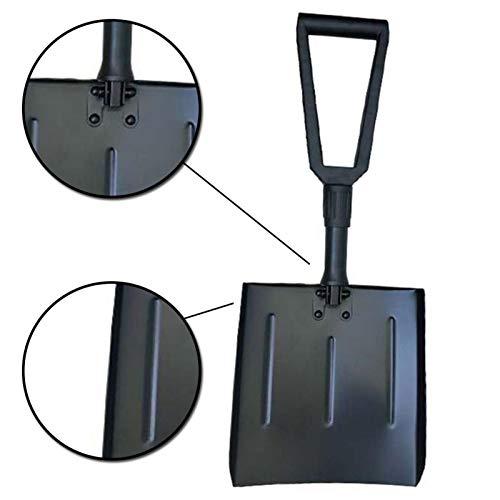 Lowest Prices! Folding Snow Shovel,Portable Aluminum Alloy Large Snow Removing Shovel for Outdoors...