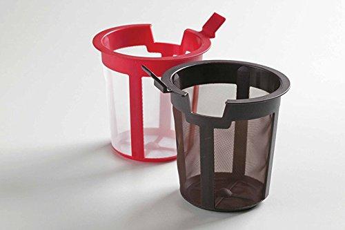 Chatsford Filtre de rechange 2 tasses (Rouge)