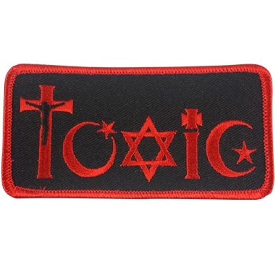 Toxic Religion Embroidered Patch - 4