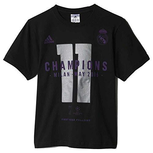 adidas - Real Madrid UCL Winner Junior, Color Black, Talla 13-14 Years