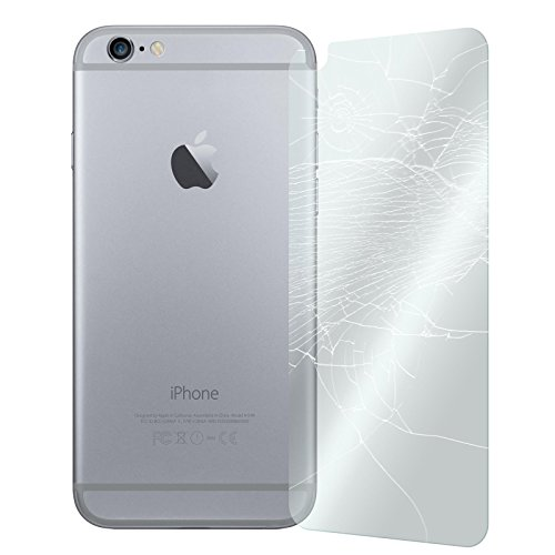PhoneNatic 1 x Pellicola Protettiva Vetro Temperato Chiaro protettore Retro Compatibile con Apple iPhone 6 Plus / 6s Plus Pellicole Protettive