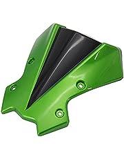 Yhfhaoop Accesorios de Motocicleta Pantalla de Escudo de Parabrisas con Parabrisas con Soporte para Kawasaki Z650 Z900 2020 hnyhf (Color : B)
