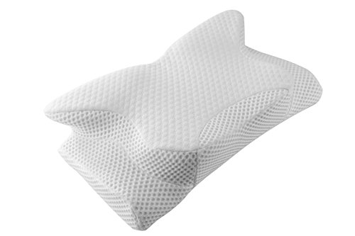 Cervical Pillow Contour Pillow for Neck and Shoulder Pain, Coisum Orthopedic Memory Foam Pillow Ergonomic Bed Pillow for Side Sleepers Back Sleepers,...