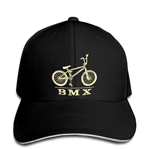 OF Baseball cap BMX Biker Rad Skyway Mongoose Retro Bicycle Cool Mountain Blue Funny Unisex Funny Snapback Hat Peaked