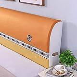 Patchwork Funda para cabecera de cama, cojín corto de felpa, protector de cabeza de cama a prueba de polvo, estilo nórdico, respaldos de tamaño