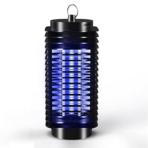 AMZH Accueil Électronique pratique Mosquito Killer Trap Moth Fly Wasp Led Night Lamp Insecte Bug Insect Light Black Killing Pest