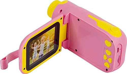 Silvergear Kindercamera Filmcamera Roze - USB Oplaadkabel - Speciaal voor kinderen