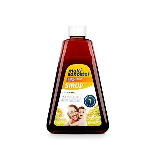 Multi-Sanostol ohne Zuckerzusatz: Multivitaminpräparat für Kinder ab 1 Jahr zur Vorbeugung von kombinierten Vitaminmangelzuständen, 260g