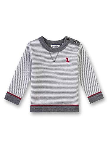 Sanetta Baby-Jungen Sweatshirt, Beige (Ivory 1829), 80 (Herstellergröße: 080)