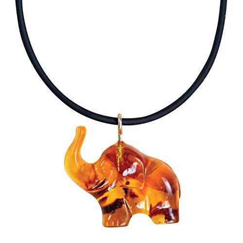 Polish Amber Baltic Artifact Amber Elephant Necklace Bracelet Hazelaid Teething Beads Polska Hand Made Necklace