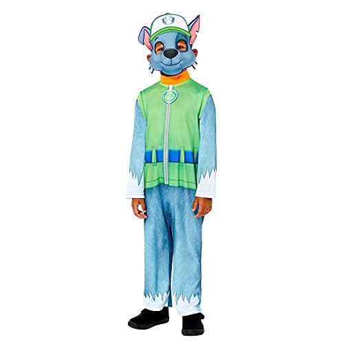 Amscan 9909122 Rocky Good Halloween Costume-Age 4-6 DEGUISEMENT, Vert, ans