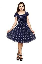 Colorfuel Womens Georgette Dress