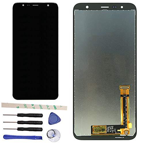 Draxlgon Compatibile con Samsung Galaxy J6+ / J6 Plus 2018 J610 / J4+ J4 Plus J415 6.0inch Gruppo del digitalizzatore del Touch Screen del Display LCD (Nero)