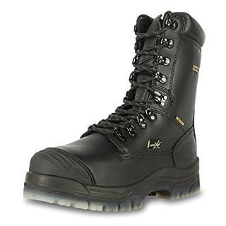 "Oliver 45 Series 8"" Leather Composite Toe Waterproof Men's Metatarsal Boots, Black (45675C) (B00I2QCRKK) | Amazon price tracker / tracking, Amazon price history charts, Amazon price watches, Amazon price drop alerts"