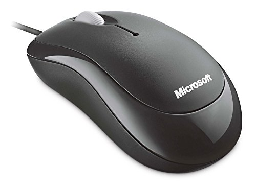 Microsoft 4YH-00007 Basic Optical Mouse - Black