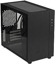 Goodisory S200 Matx Aluminum Gaming Computer Desktop Case Mini Size Type-C I/O (Black)