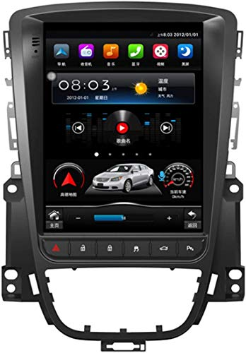 WEUN Android 10.0 Car Stereo Doppia DIN per Buick Excelle/Opel Astra J 2010-2014 GPS Navigation 10,4 Pollici Head Unit Touchscreen MP5 Multimedia Player Player Radio,4g+WiFi:2+32