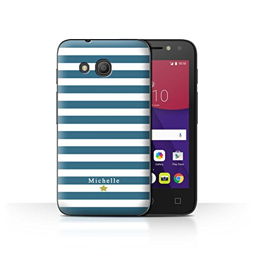 Stuff4Phone Case/Cover/Skin/alcpix44/Custom Stripes/Striped Collection Coeur Rayure Cerise