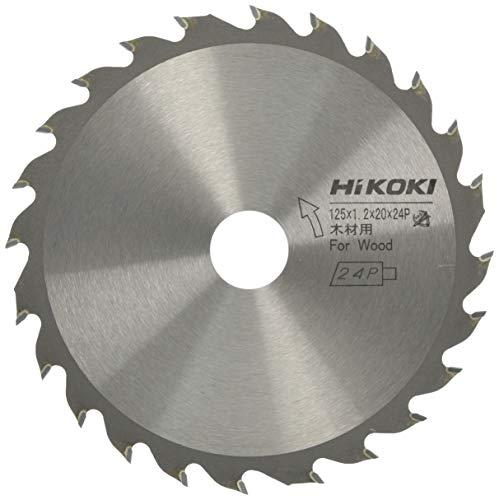 日立工機 ハイコーキ チップソー コードレス用 125mm×20 24枚刃 00326250