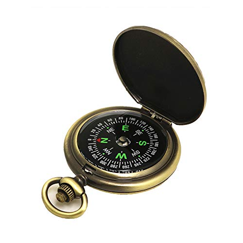 LSX Multifunktions-Kompass im Freien - Zink-Legierung Klassischer Kompass Geeignet für Wandern Camping Fahren Geschenk Kollektion Outdoor Direction