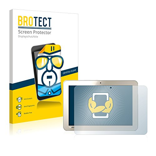 BROTECT Schutzfolie kompatibel mit Toshiba Encore 2 Write L9W-Bestellung (2 Stück) klare Bildschirmschutz-Folie