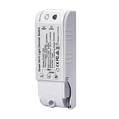 Smart WiFi Dimmer-Voice Control Modulo interruttore dimmer a relè wireless DIY Your Smart Home (Tuya APP)