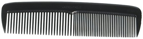Hair Comb 5 Pocket Size Unbreakable, 72 Piece in a Jar, Black, High Quality by Professional Quality Pocket Combs