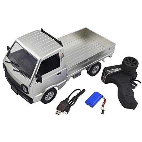 HSKB WPL D12 1/10 RC 2,4G Mini Militär Jeep Fernbedienung Auto Truck Armee 1:10 4WD RC Buggy Verfolgt Räder...