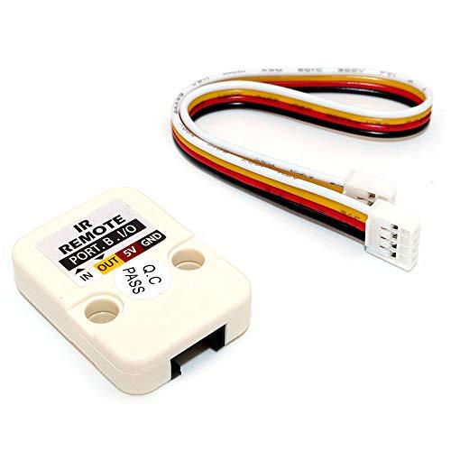DollaTek M5 Mini-capteur Infrarouge Officiel avec capteur Infrarouge à Infrarouge avec récepteur et émetteur Connecteur GPIO Grove