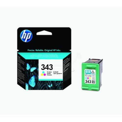 HP C8766EE (343) cabezal color, 330páginas, 7ml