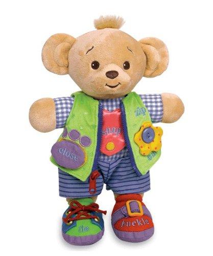 Genius Baby Toys Learn to Dress Doll Bearemy Bear - 12