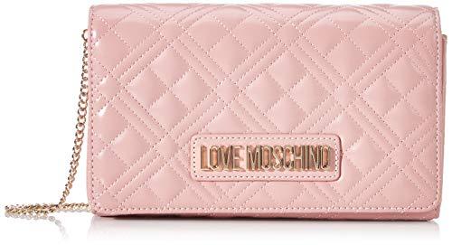 Love Moschino Jc4247pp0a, Pochette da Giorno Donna, Rosa (Powder), 7x14x22 cm (W x H x L)