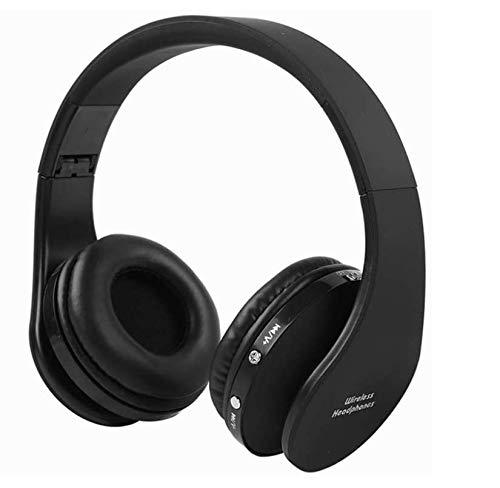 Auriculares Inalámbricos Bluetooth Auriculares estéreo de Diadema de alta fidelidad con receptor para consola PS4 u otros dispositivos Bluetooth funciona hasta 12 horas mini orificio de carga USB