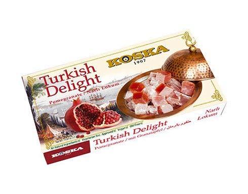 delizie turche con il melograno 500 g,Turkish Delight with Pomegranate 500g