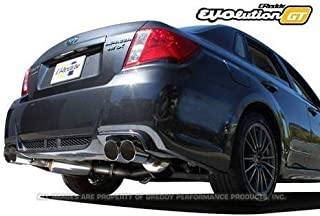 Greddy Evolution GT Exhaust System for 2011-14 Subaru WRX STI GV8 Sedan