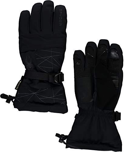 Spyder Active Sports Men's Overweb Gore-TEX Ski Glove, Black, Large