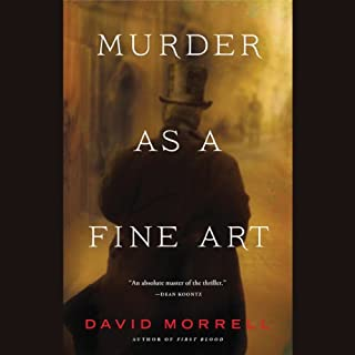 Murder as a Fine Art audiobook cover art