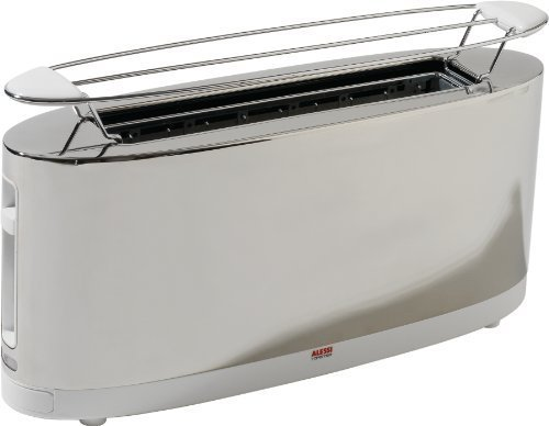 Alessi SG68 W/UK Toaster With Bun WArmer by Alessi