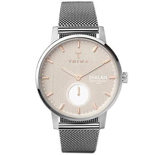 TRIWA Svalan Minimalist Watch for Women – Ladies Fashion Analog Wrist Watches 34mm