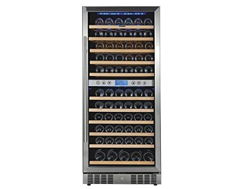 GGG Profi Weinkühlschrank, 117 Flaschen, 2 Zonen, 5-10° C und 10-18° C; WK655
