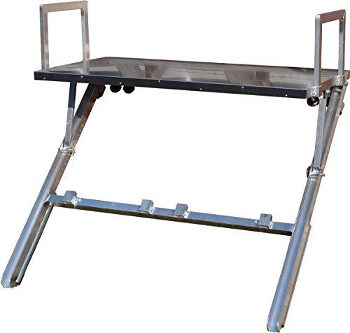 ESDA-Kranziegelboy aus Aluminium für 2 Reihen