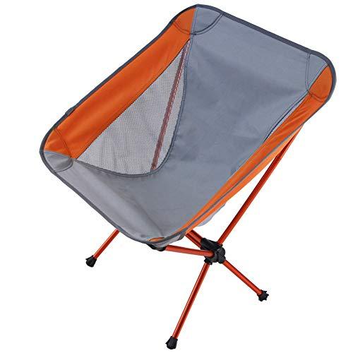 Nerioya Camping Stoel Ultra Light Tuinstoel Vouwen Visstoel Compact, Draagbare Outdoor Stoel met Activiteiten, Camping, BBQ, Strand,