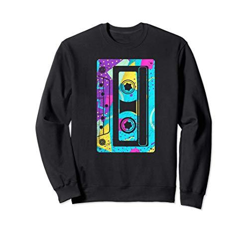 Totally Rad Cassette Disfraz Vintage Años 80 Sudadera