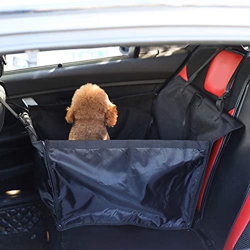 Unbekannt Autohaustierauflage Rahmen einsitzigen Auto-Pad Rahmen Auto Anti schmutziger Hund Pad Rahmen Haustier-Produkte 黑色 (Color : Black)